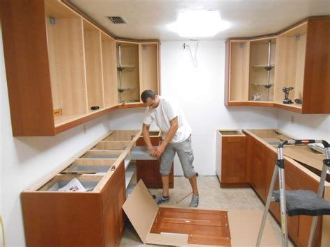 how to install kitchen cabinets kitchen cabinet installation cost installing kitchen
