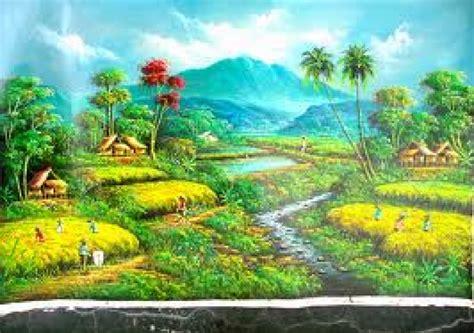 Lukisan Pemandangan Pantai lukisan pemandangan di tepi pantai takdepanrumahminimalis grcom info