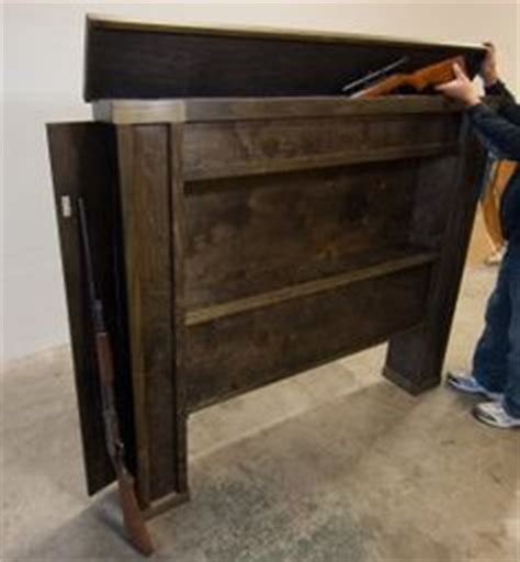 tactical headboard guns on pinterest gun storage secret compartment