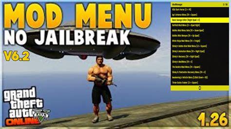 mod gta 5 no jailbreak ps3 gta 5 new mod menu download v6 2 no jailbreak