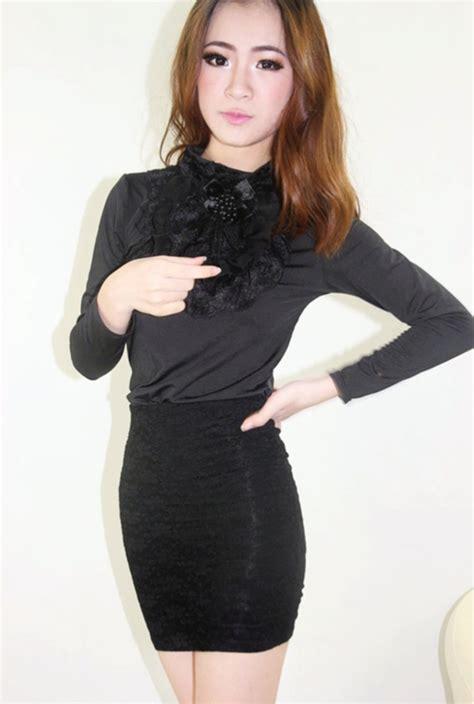 I Am A Untuk Dewasa Blouse jual blouse wanita murah collar blouses