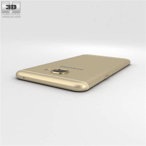 Samsung Galaxy C5 Gold samsung galaxy c5 gold 3d model hum3d