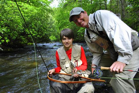 boat trip parents guide fly fishing waynesville and maggie valley nc guided trips
