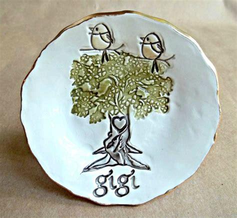 Gigi Porcelain 1 gigi with 2 birdy ceramic trinket bowl mothers day