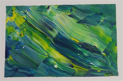 watercolor effect with acrylic paint on canvas simple acrylic painting technique for creating amazing