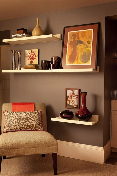 Modern Floating Shelves Decorating Ideas by Floating Shelves Fabulous And Functional Wall Decoration