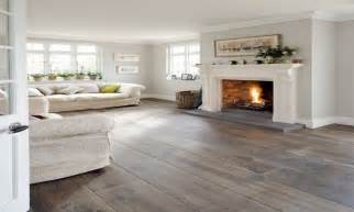 wood floor grey walls