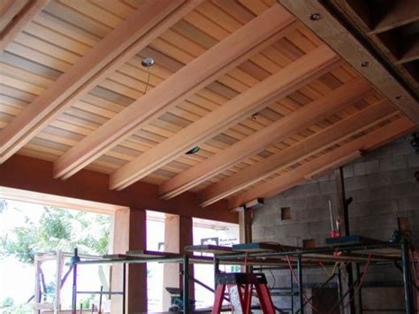 Covered Patio Ceiling Ideas by Home Remodeling Improvement I Lanais Porches And