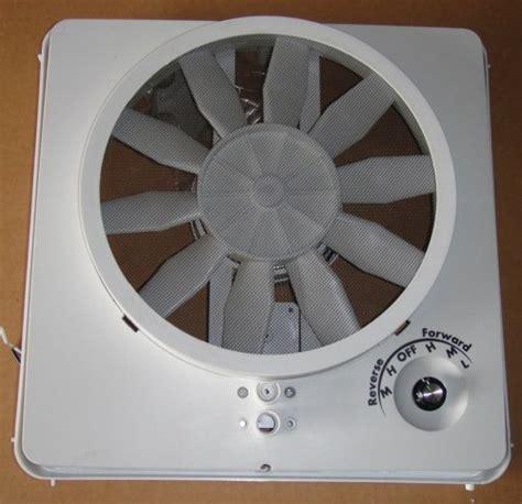 rv roof vent vortex ii ugrade kit multispeed fan rv