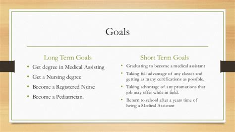 Mba Help In Your Term Term Career Goals by And Term Goals Essay Bridge School Self