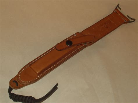 gerber leather sheath high adventure outfitters gerber ii custom made