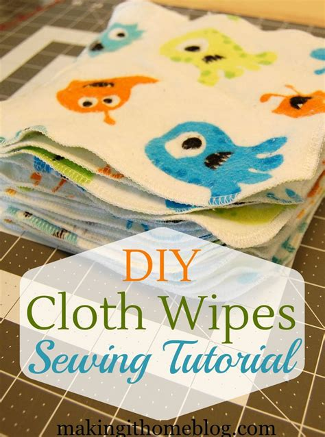 reusable baby wipes diy 2 yards of flannel fabric 30 minutes 20 cloth baby