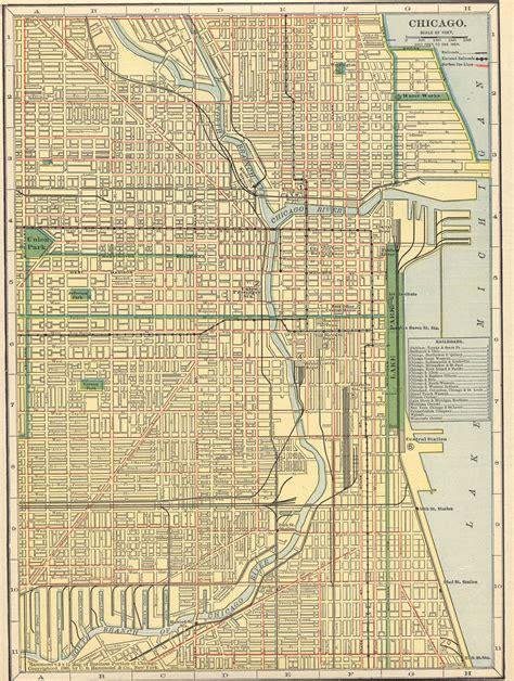 chicago map 1900 map kansas city to chicago swimnova
