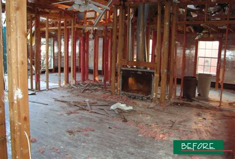 clydesdale homes disaster renovation gallery