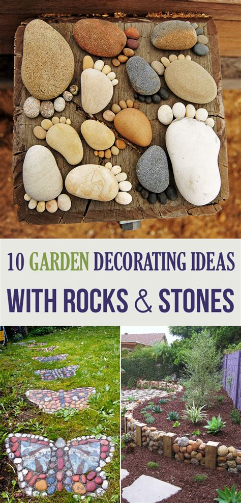 home and garden decorating ideas 10 garden decorating ideas with rocks and stones