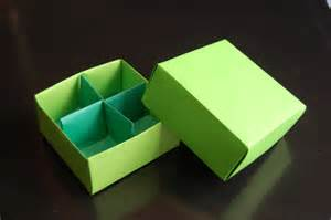 How To Make Paper Dividers - origami box traditional box divider paolo bascetta