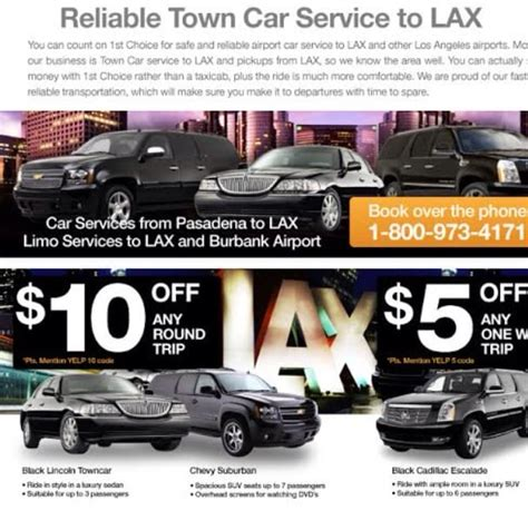 Town Car Service To Airport by Town Car Service Car Service Lax Car