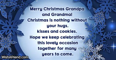 christmas messages  grandparents