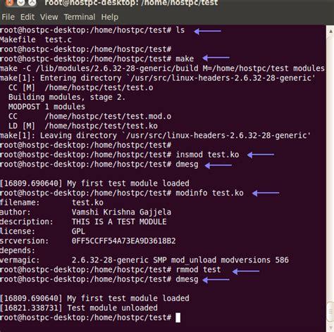 tutorial linux kernel programming linux kernel programming loadable kernel module