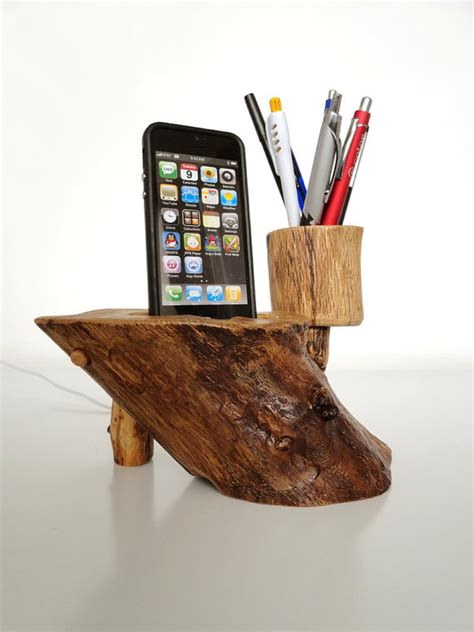Handmade Pen Holder Design - pen holder and iphone 5 dock iphone 4 dock ipod touch dock