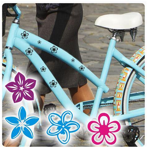Fahrrad Aufkleber Hibiskus by Blumen Bl 252 Ten Fahrradaufkleber Fahrrad Aufkleber Sticker