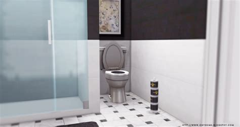 bentons bathrooms onyx sims benton bathroom sims 4 downloads