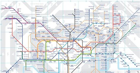 Train Floor Plan by London Underground 2016 Tube Map Shows New Zones For