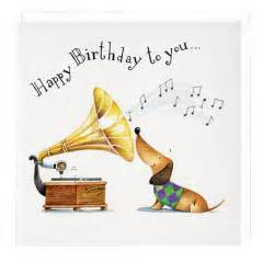 Musical Birthday Cards Happy Birthday To You Musical Dachshund Greeting Card