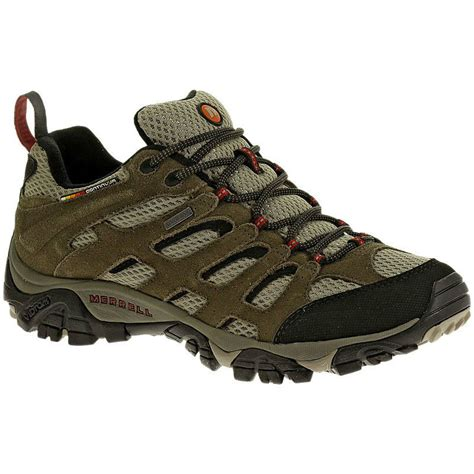 merrell hiking shoes merrell s moab wp hiking shoes bark brown