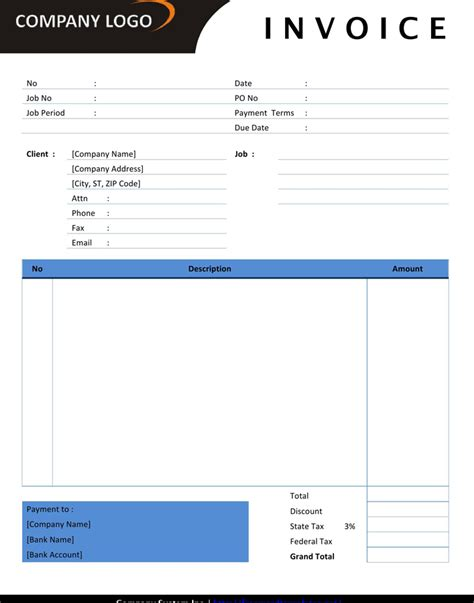 software development invoice template 7 best images of graphic design forms offshore