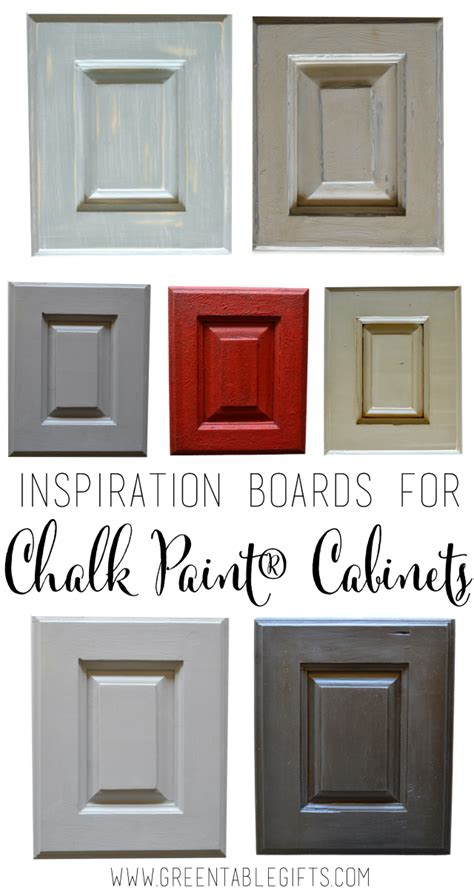 chalk paint for kitchen cabinets green table mercantile six inspiration boards for chalk