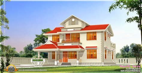 4 Bedroom Open Floor Plan by 2020 Square Feet Kerala Model Residence Exterior Kerala