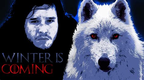 wallpaper ghost game of thrones jon snow and ghost wallpaper full hd wallpaper and