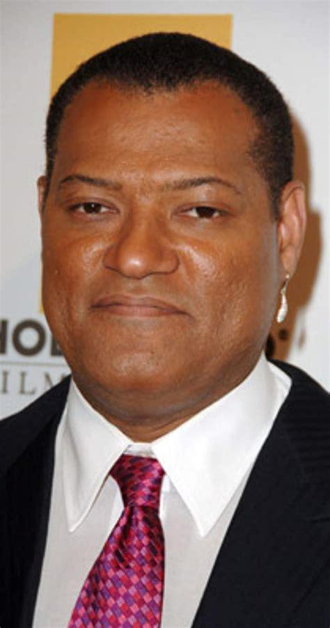 black male actor with lazy eye laurence fishburne imdb