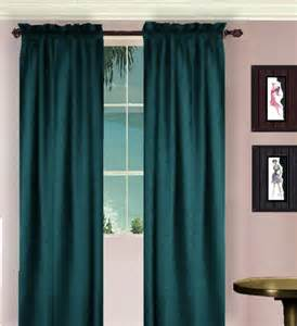 Teal Window Curtains Solid Teal Colored Window Curtain Available In Many Lengths And 3 Rod Pocket Sizes