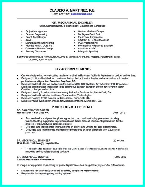 model resume for engineering students model resumes for engineering students 28 images sle