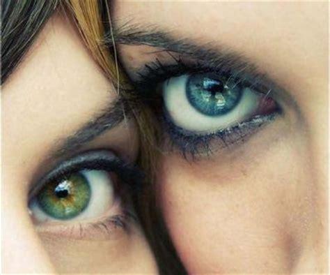 imagenes de ojos verdes y azules ojos azules y verdes taringa