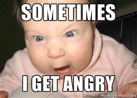 Mad Baby Meme - angry baby via meme generator products i love