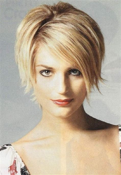 hairstyles that thin the face hairstyles short hair round face