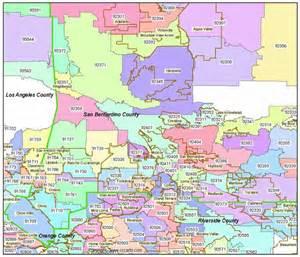san bernardino zip codes ontario zip code boundary map