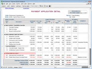 payment application made easy for excel free download