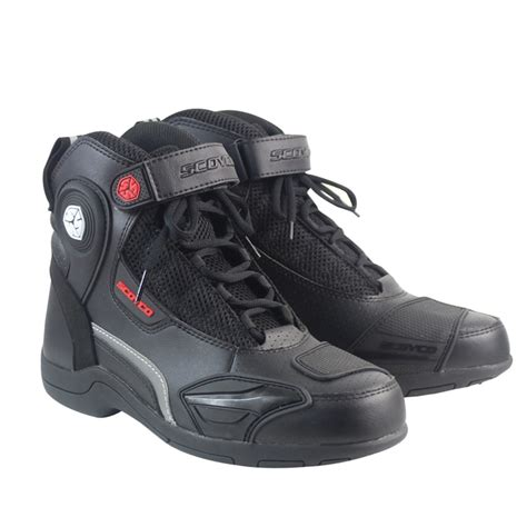 scoyco mbt moto racing leather motorcycle boots shoes