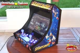 Bartop Arcade Starcade Deluxe Led Edition Bartop Arcade Arcadomania Shop