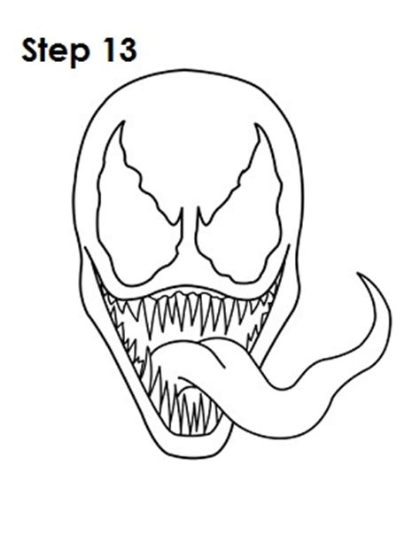 printable venom mask agent venom coloring coloring pages