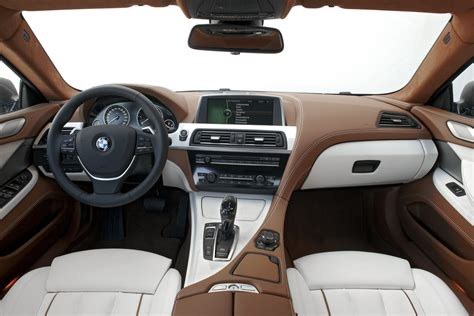 inside of a bmw 6 series gran coupe enters into the 4 door coupe slideshow autoviva
