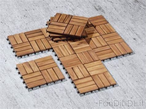 piastrelle in legno piastrelle in legno giardino fan di lidl