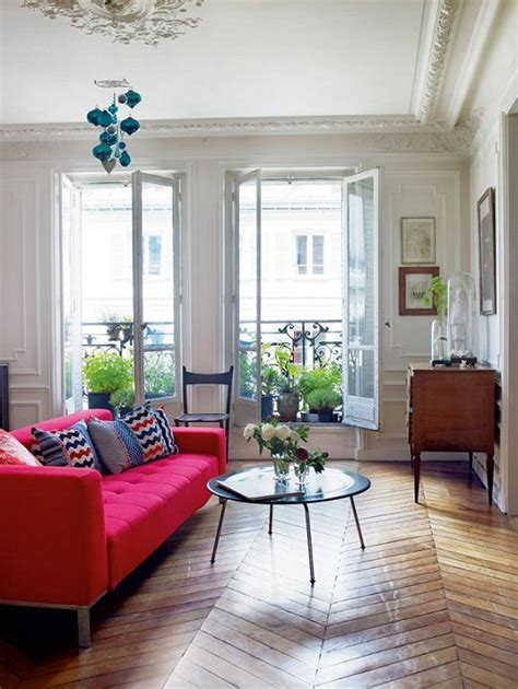 paris home decor old apartment in paris with modern flair interiors and