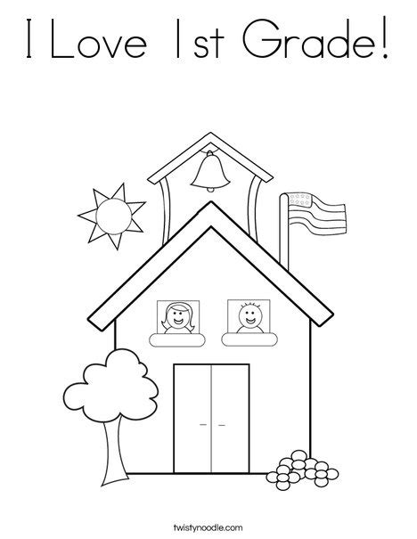 coloring pages for grade 1 i 1st grade coloring page twisty noodle