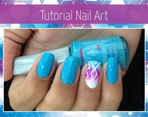 tutorial nail art degrade tutorial unha decorada nail art degrad 234 azul eu capricho
