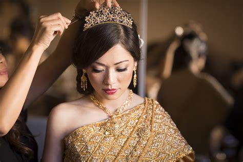 Makeup Hair Go To Wedding In Cambodia | 30 san francisco bay area cambodian fusion wedding